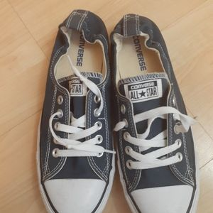 Navy blue converse womans 11 like new unisex